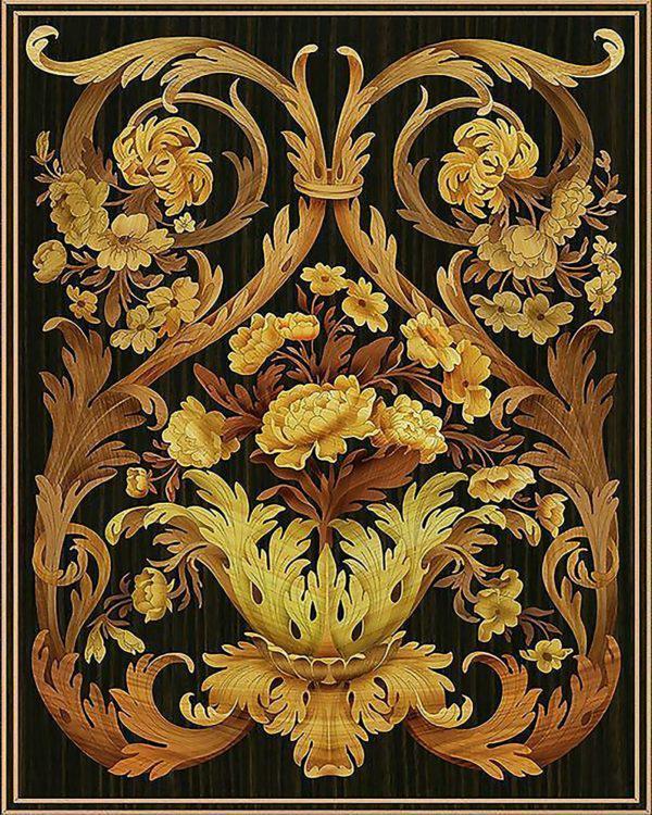 Картина рисование по номерам Чарівний діамант Корзинка роскоши РКДИ-0116 40х50см набор для росписи, краски,