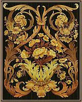 Картина рисование по номерам Чарівний діамант Корзинка роскоши РКДИ-0116 40х50см набор для росписи, краски,, фото 1