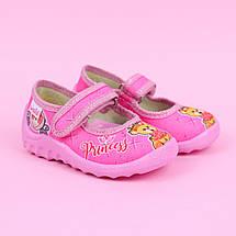 360-026 Текстильные туфли тапочки Катя розовые тм Waldi размер 22,23,25, фото 2