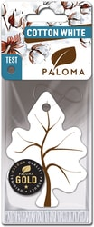 Ароматизатор воздуха картонный Paloma Gold COTTON WHITE