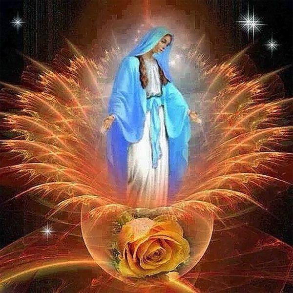 Картина рисование по номерам Чарівний діамант Красота и тепло души РКДИ-0120 40х40см набор для росписи,