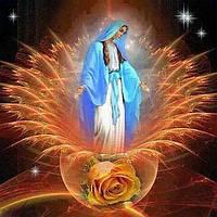 Картина рисование по номерам Чарівний діамант Красота и тепло души РКДИ-0120 40х40см набор для росписи,, фото 1