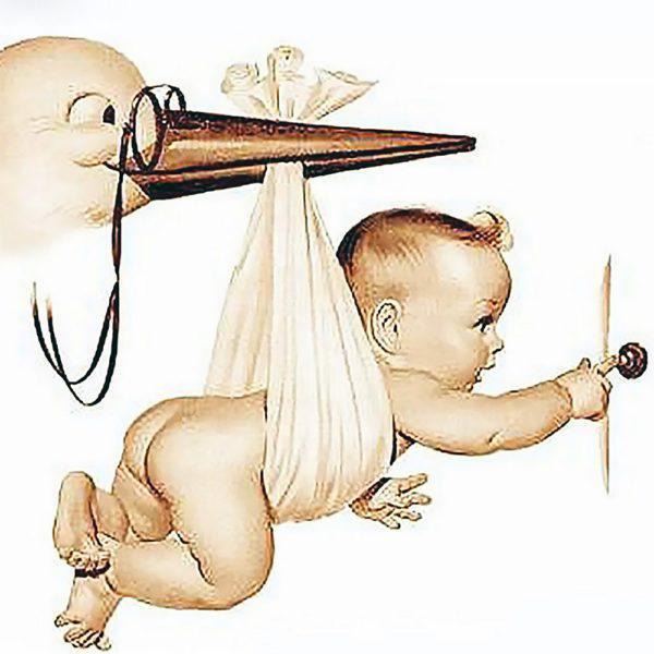 Картина рисование по номерам Чарівний діамант Встречайте, малыша! РКДИ-0174 40х40см набор для росписи, краски,