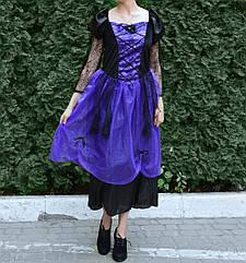 Платье Ведьмы  фиолетовое Размер (М-Л)