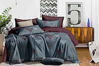 Двуспальное постельное белье 180х220 сатин_хлопок 100% (15499), фото 1