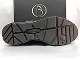 Зимние кожаные ботинки под кроссовки на молнии Bertoni, фото 9