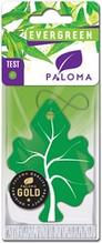 Ароматизатор воздуха картонный Paloma Gold EVERGREEN