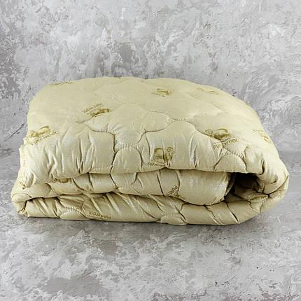 Одеяло закрытое овечья шерсть (Микрофибра) PURE WOOL Полуторное T-55081, фото 2