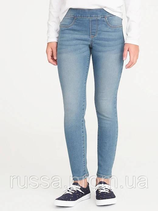 Классные обтягивающие джинсы Skinny Олд Неви для девочки