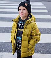 Зимняя пуховая куртка-жилет для мальчика Reima Martti, размер 140