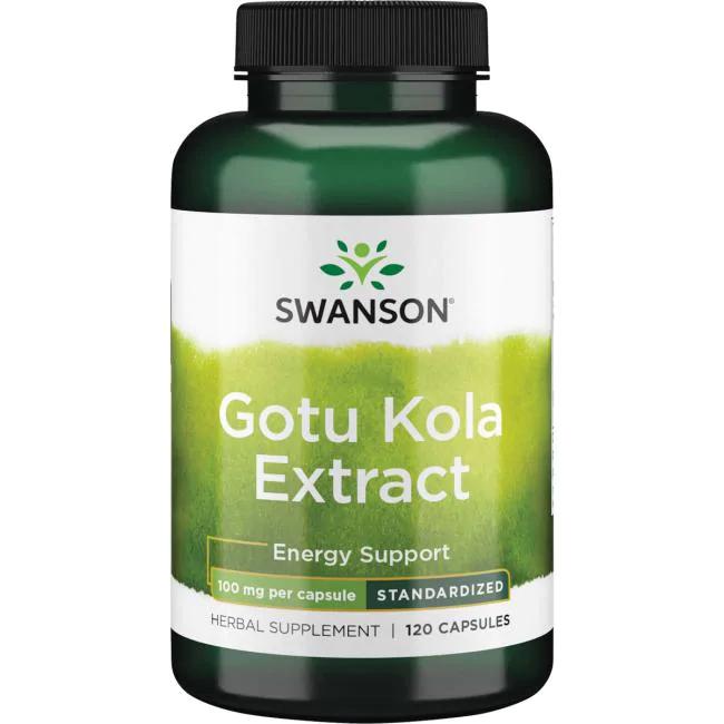 Gotu Kola Extract - Standardized / Готу Кола экстракт, 100 мг 120 капсул