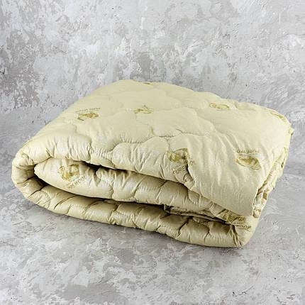 Одеяло закрытое овечья шерсть (Микрофибра) PURE WOOL Полуторное T-55080, фото 2