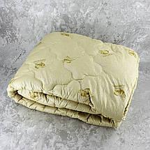 Одеяло закрытое овечья шерсть (Микрофибра) PURE WOOL Полуторное T-55080, фото 3