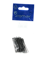 3150075 Шпильки прямые черные, 45мм Comair 50шт/уп