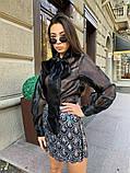 Женская Стильная Юбка с пайетками, фото 4