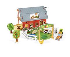 Игровой набор ферма с животными Janod