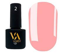 Гель-лак Valeri 02 (Светло-розовый эмаль)