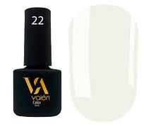 Гель-лак Valeri 22 (Бело-серый эмаль)
