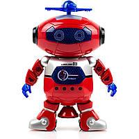 Робот детский Dance (Red) | Cветящийся интерактивный робот танцор