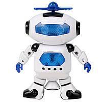 Робот детский Dance (White) | Cветящийся интерактивный робот танцор