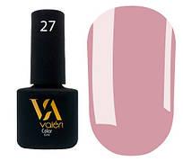 Гель-лак Valeri 27 (Розовое какао эмаль)