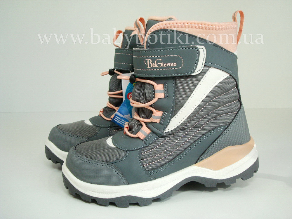 Зимние ботинки B&G Termo. Размеры 34.