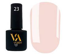 Гель-лак Valeri 23 (Розово-бежевый эмаль)