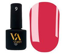 Гель-лак Valeri 09 (Кораллово-розовый эмаль)
