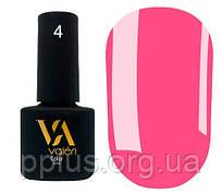 Гель-лак Valeri 04 (Малиново-розовый эмаль)