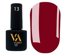 Гель-лак Valeri 13 (Бордовый эмаль)