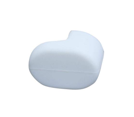 Білий селиконовый ковпачок (чобіток) на гачок заднього крила електросамоката Xiaomi M365/M365 Pro
