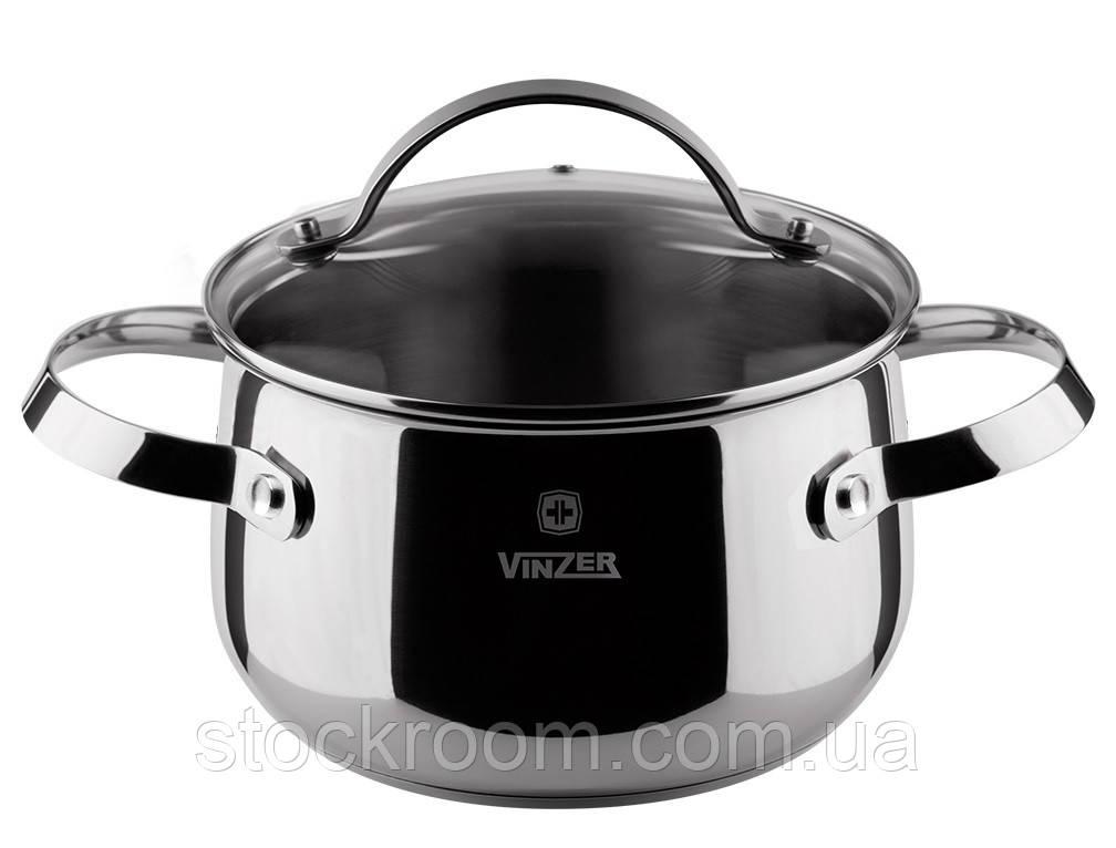 Кастрюля с крышкой VINZER Culinaire series 2.4 л (89166)