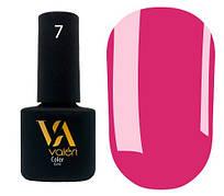 Гель-лак Valeri 07 (Яркий розовый эмаль)