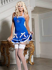 Карнавальный костюм Морячка секси на рост 160-173см