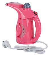 Вертикальный отпариватель ручной Domotec MS 5360 Pink