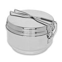 Набор туристической посуды Helikon-Tex Mess Tin - Stainless Steel ME-MEN-SS-15