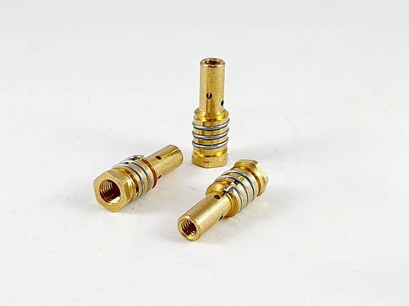 Тримач газового сопла для напівавтоматичного пальника МВ-14 М8 ліва різьба., фото 2