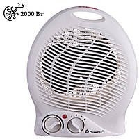 Электрический тепловентилятор Domotec MS-5902 дуйка для обогрева дома 2кВт Обогреватель напольный воздушный, фото 1