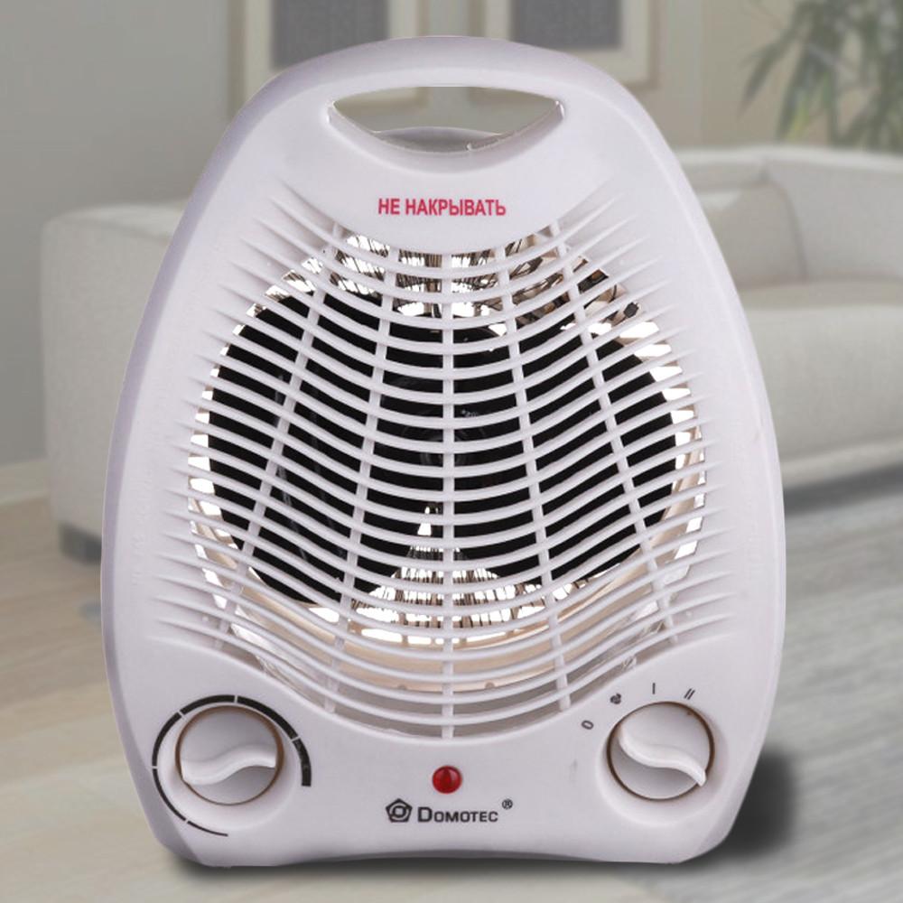 Электрический тепловентилятор дуйка Domotec MS-5901 2кВт дуйчик для обогрева дома, теплова дуйка с доставкой