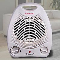 Электрический тепловентилятор дуйка Domotec MS-5901 2кВт дуйчик для обогрева дома, теплова дуйка с доставкой, фото 1