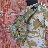 Універсальна тактична сумка-рюкзак через плече повсякденна H&S Tactic Bag 600D мультікам, фото 4
