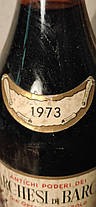 Вино 1973 года  Marchesi Barolo Италия, фото 2