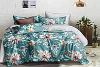 Двуспальное постельное белье 180х220 сатин_хлопок 100% (15502), фото 1
