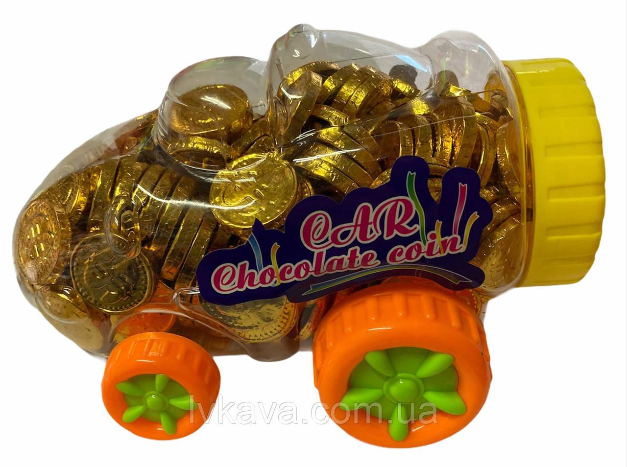 Шоколадные монеты Car  Prestige  , 2,2  гр х 200 шт
