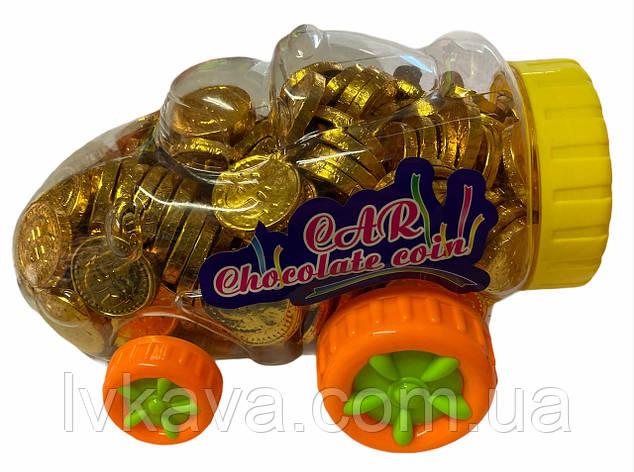 Шоколадные монеты Car  Prestige  , 2,2  гр х 200 шт, фото 2