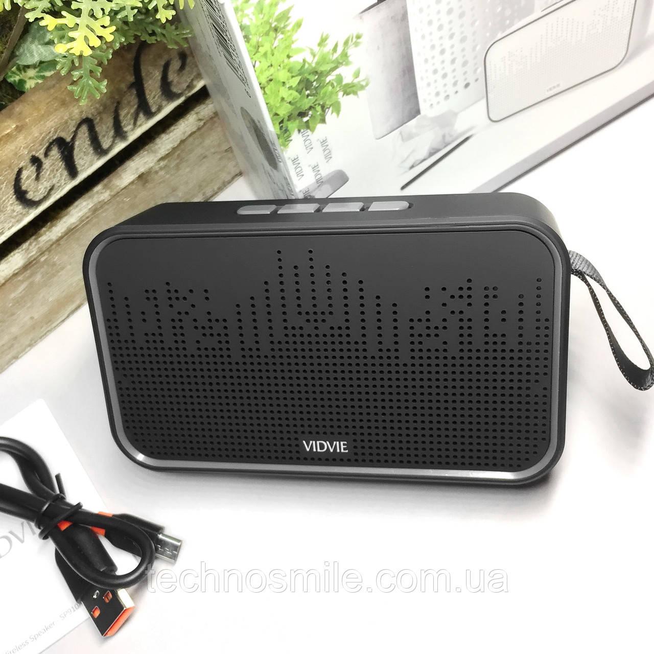 Колонка Bluetooth VIDVIE SP910 чорна