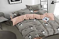 Двуспальное постельное белье 180х220 сатин_хлопок 100% (15505), фото 1