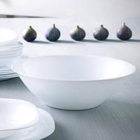 Великий білий салатник Luminarc Carine white 27 см (D2370)