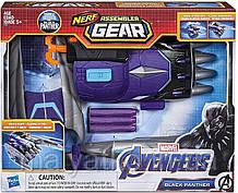 Бластер Нерф NERF Чорна Пантера Марвел Hasbro Marvel Black Panther Endgame Assembler Gear