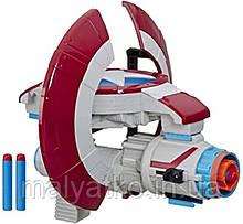 Зброя Щит Нерф NERF Капітан Америка Марвел Marvel Avengers Captain America Assembler Gear
